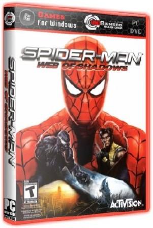 Скачать бесплатно на компьютер игру человек паук паутина теней